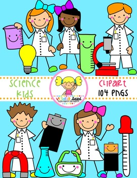 Science Clipart {Kids Clipart}