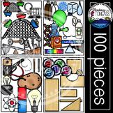 Science Clipart 2 MEGA Bundle (STEM Clipart)