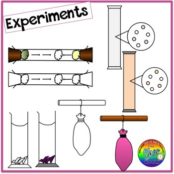 Matter Clipart (Kinetic Theory)