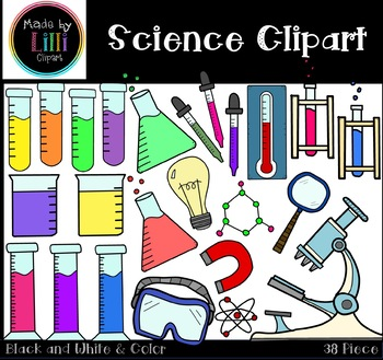Science Clipart - STEM Clipart