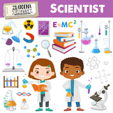 Science Clipart Scientist Clip Art Science lab school grap