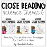 Reading Comprehension Passages and Questions for Close Reading BUNDLE