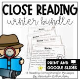 Science Close Reading for First Grade: Winter Edition
