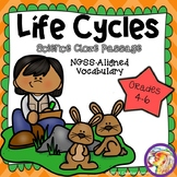 Science Cloze: Life Cycles NGSS Aligned