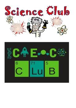 Science Club Headers