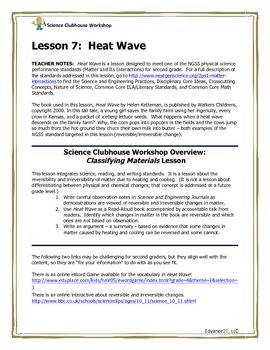 Science Clubhouse Workshop – 2nd Grade: Heat Wave