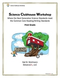 Science Clubhouse Workshop - 1st Grade: No Light, No Sight