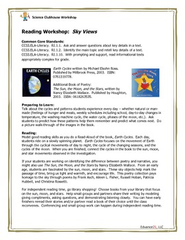 Science Clubhouse Workshop - 1st Grade: Sky Views