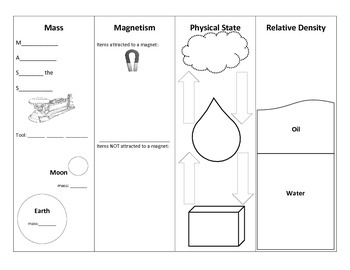 Science Coach Note-Page, Physical Properties 1