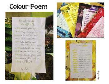Science, Color, Art- Colour Poetry
