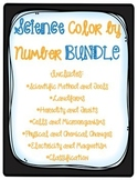 5th Georgia Performance Standards Science Color By Number BUNDLE