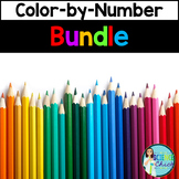 Science Color-by-Number Growing Bundle