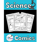 Science Comics Bundle - Non-Fiction Writing Activities