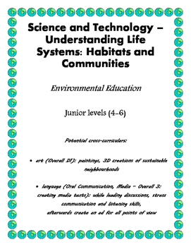 Science: Communities and Habitats - Junior