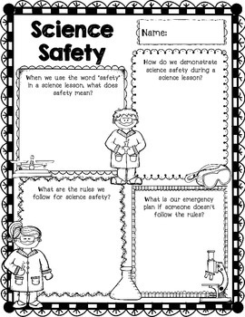 Science Concept Poster Freebie Science Safety