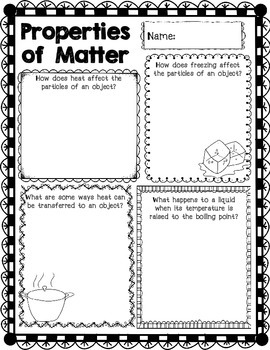 3rd Grade Science Concept Posters 3.P.1 3.P.2 3.P.3 Force Motion Friction Matter