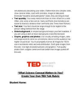 Science Concept TED Talk with Newsela