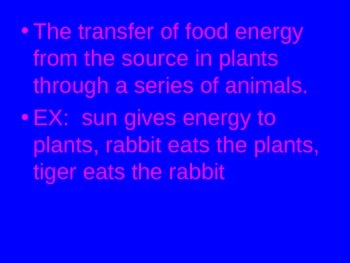 Science Concepts Power Point Presentation