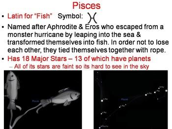 Zodiac Constellations PowerPoint