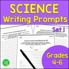 Science Journal Prompts: Constructed Responses for Critica