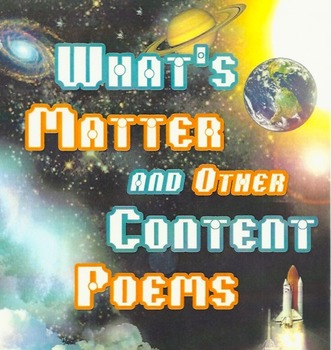 ***Science Content Poems***