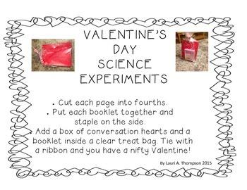 Science Conversation Heart Valentine