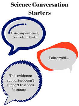 Science Conversation Starters Poster