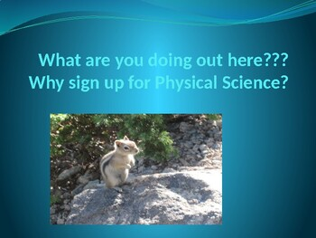 Science Course Day 1 Powerpoint