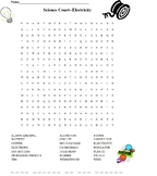 Science Court-Electricity Wordsearch