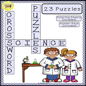 Science Crossword Puzzles