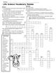 Science Crossword Puzzles
