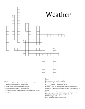 4th and 5th SOL Science Crosswords Review Bundle