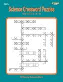 Science Crosswords, Grades 3–6