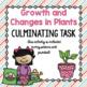 Science Culminating Task Bundle: Plants, Soil, Forces, Str