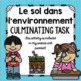 Science Culminating Task Bundle: Plants, Soil, Forces, Structures (French)