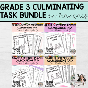 Science Culminating Task Bundle: Plants, Soil, Forces, Str