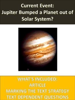 Solar System Sub Plans - Jupiter