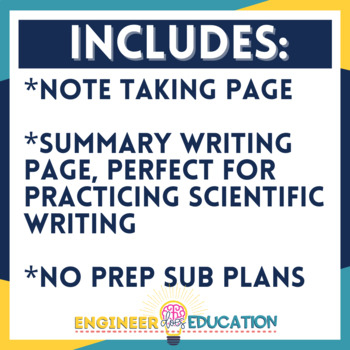 Science Current Event Worksheet: Engaging No-Prep Lesson Plan for any Curriculum