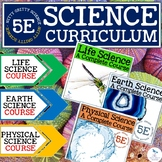 INTEGRATED SCIENCE CURRICULUM 5E BUNDLE: Life, Earth, and Physical Science