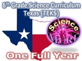 Science Curriculum Grade 8 Texas TEKS