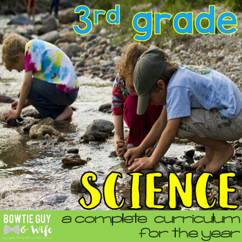 Science Curriculum bundle 3rd grade (Assessments, Games, Texts, & Activities)