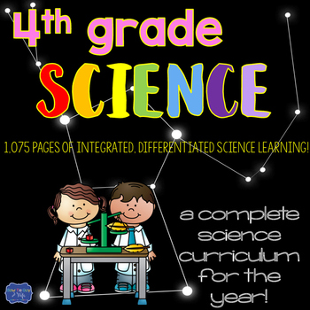 Science Curriculum for the Year 4th grade