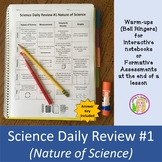 Science Daily Review #1 (Nature of Science)