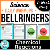 Science Daily Warmups: Chemical Reactions