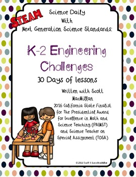 STEM: K - 2 NGSS Engineering Challenges with CCSS Connections