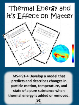 Science Data Interpretation- States of Matter and Particle Motion