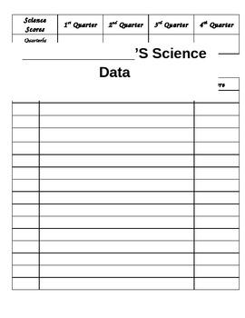 Science Data Tracker