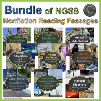 Science Differentiated Reading Passages Bundle