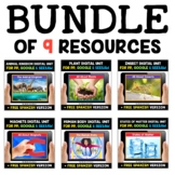 Science Digital Activities for Google and Seesaw Bundle