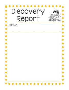 Science Discovery Report Form